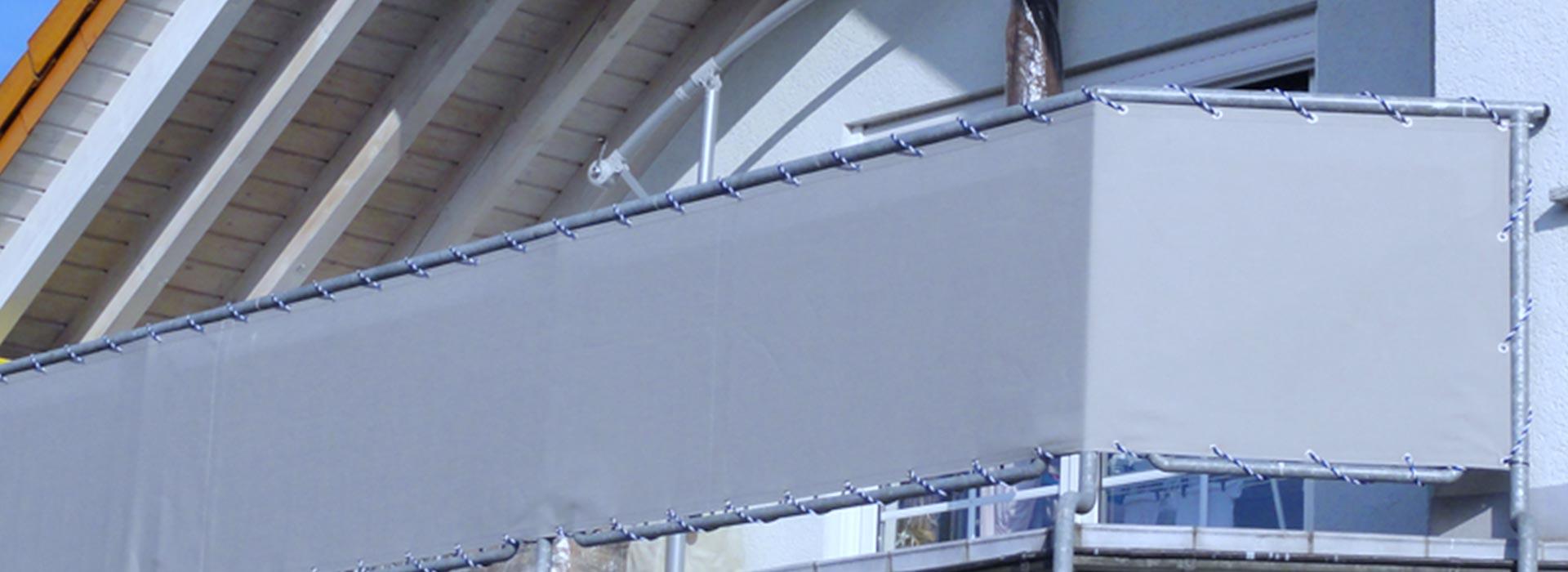 Balkonumrandung & Balkonfächer