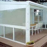 Wetterschutzplanen für Terrassen