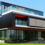 moderne Fassaden-Markise